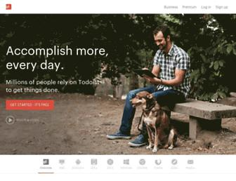 Thumbshot of Todoist.com