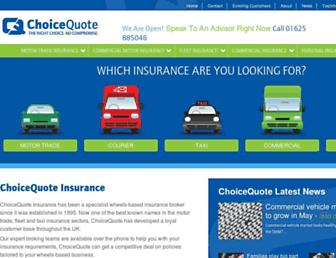 choicequote.co.uk screenshot