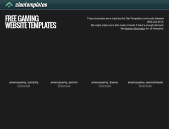 clantemplates.com screenshot
