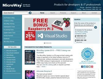 microway.com.au screenshot