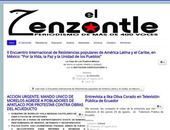 elzenzontle.org screenshot
