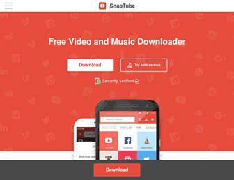 snaptubeapp.com screenshot