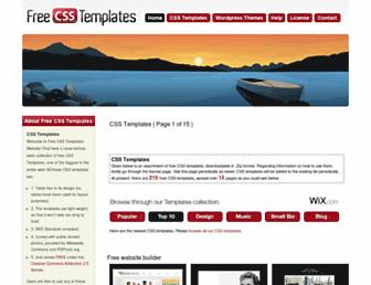 Thumbshot of Free-css-templates.com