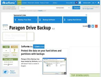 paragon-drive-backup-express.en.softonic.com screenshot