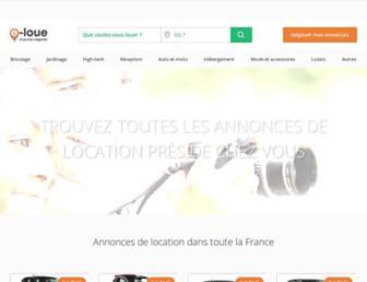 e-loue.com screenshot