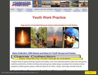 youthwork-practice.com screenshot