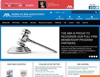 apps.americanbar.org screenshot