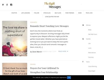therightmessages.com screenshot