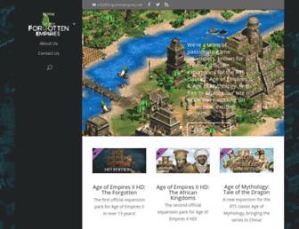 Thumbshot of Forgottenempires.net