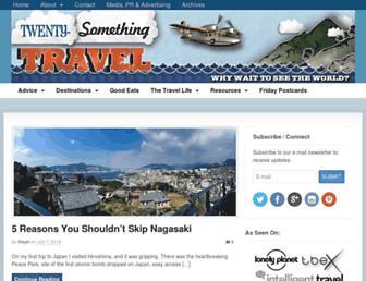 Thumbshot of Twenty-somethingtravel.com