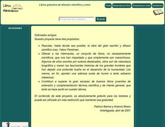 librosmaravillosos.com screenshot