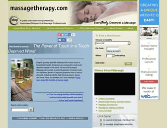 Thumbshot of Massagetherapy.com