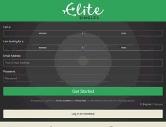 elitesingles.ca screenshot