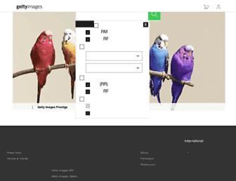 gettyimages.co.jp screenshot