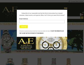 aandewatches.com screenshot