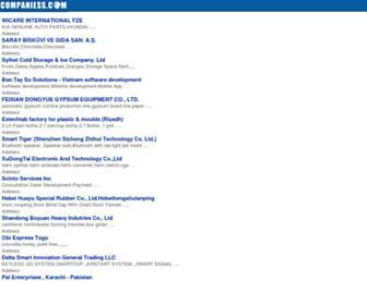 mobile.companiess.com screenshot