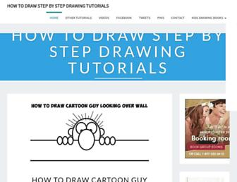 drawinghowtodraw.com screenshot