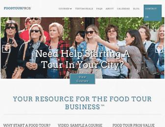 foodtourpros.com screenshot