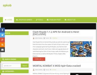 apkob.blogspot.com screenshot