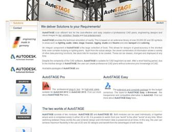 autostage.de screenshot