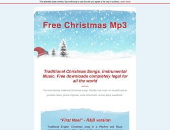 freexmasmp3.com screenshot