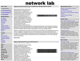 nwlab.net screenshot