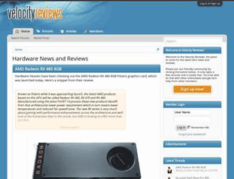 Thumbshot of Velocityreviews.com