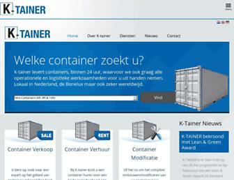 k-tainer.eu screenshot