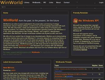 Thumbshot of Winworldpc.com