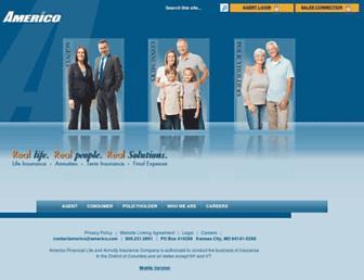 americo.com screenshot