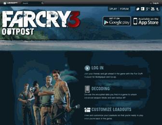 farcryoutpost.com screenshot