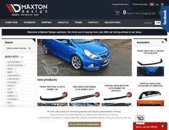 maxtondesign.eu screenshot