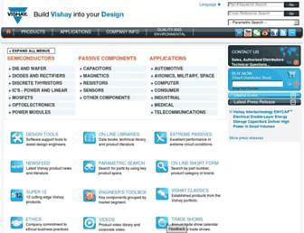 Thumbshot of Vishay.com