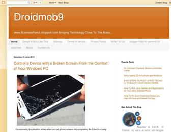droidmob9.blogspot.com screenshot