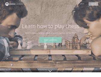 chesscademy.com screenshot