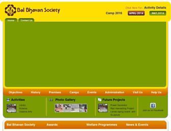 balbhavanbaroda.org screenshot