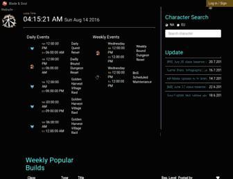 bnstree.com screenshot