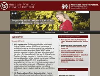 mwti.msstate.edu screenshot