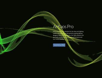 arkaos.net screenshot