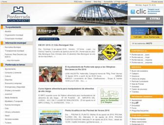 Thumbshot of Ponferrada.org