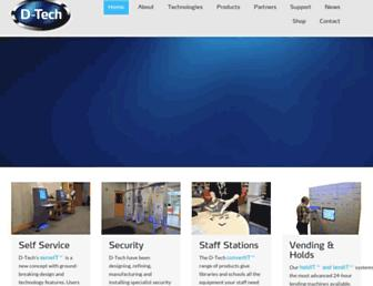d-techinternational.com screenshot