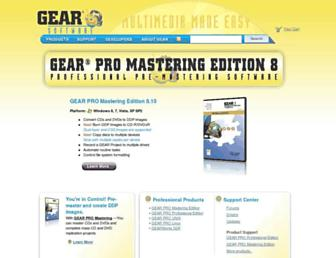 gearsoftware.com screenshot