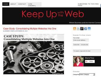 Thumbshot of Keepupwiththeweb.com