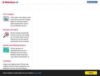 webwijzer.nl screenshot