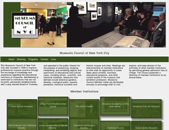 museumscouncil.org screenshot