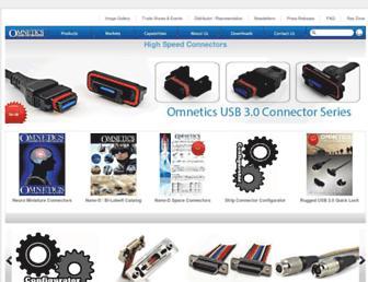 omnetics.com screenshot