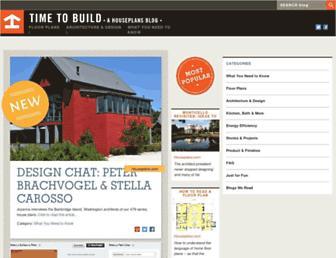 blog.houseplans.com screenshot