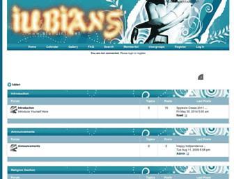iubian.forumotion.com screenshot