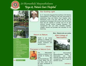 naturecure.org.in screenshot