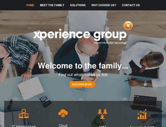 xperience-group.com screenshot